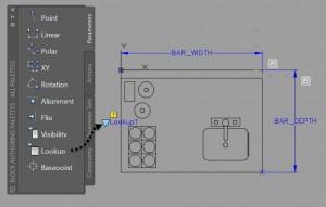 ACAD Lookup Parameter