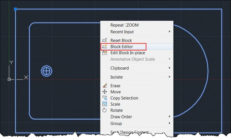 AutoCAD - Launch Block Editor