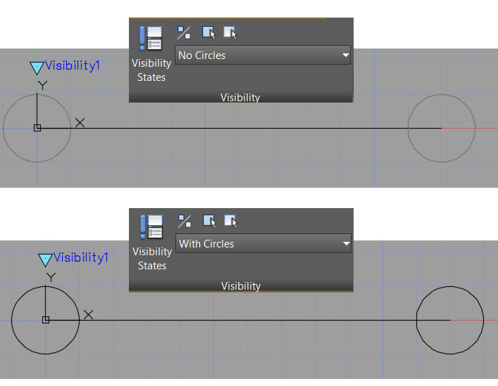 Dynamic Block Visibility - Visibility States
