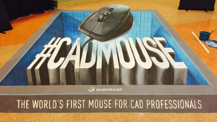 SWW15 3Dx CadMouse Floor Painting