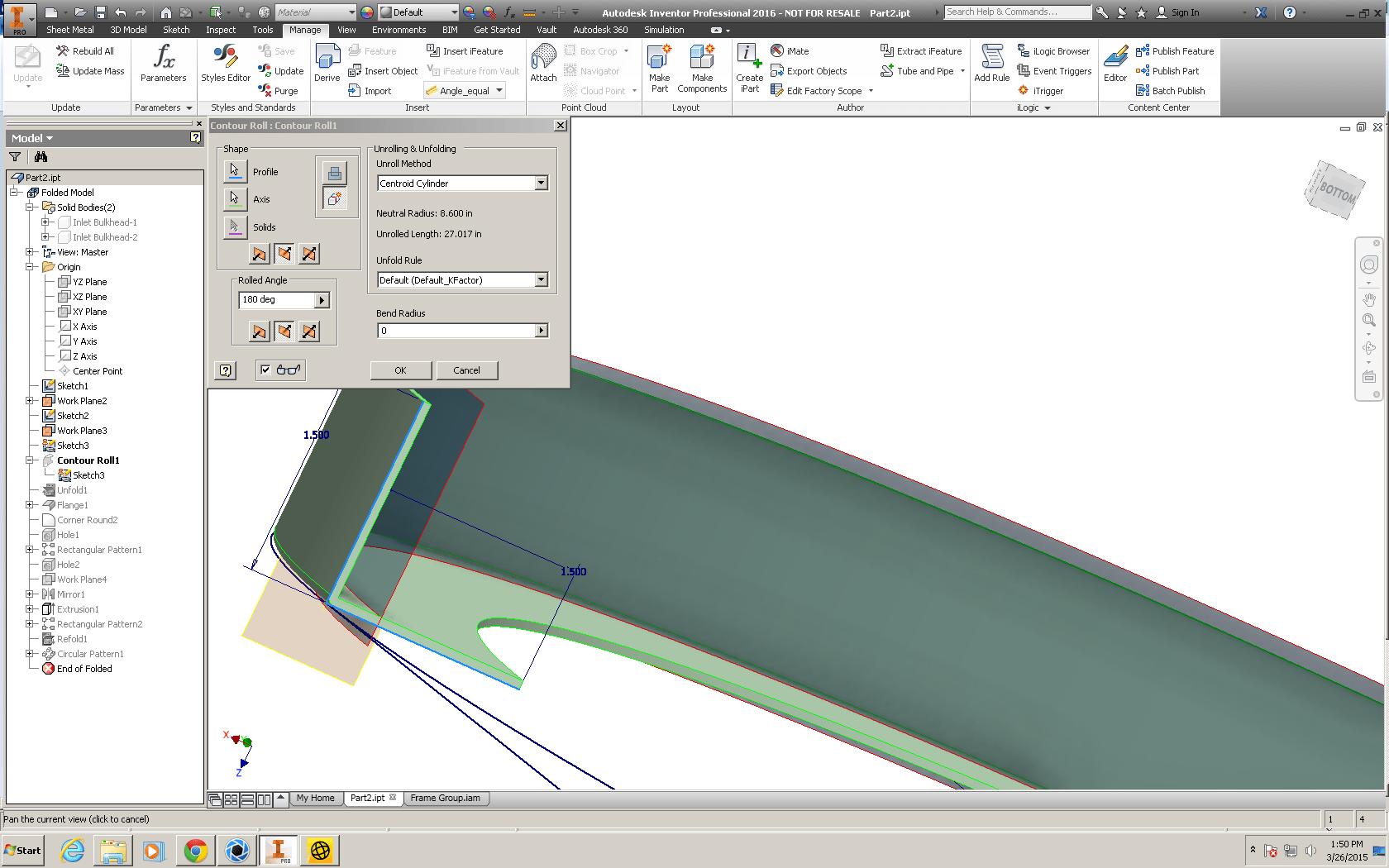 Autodesk Inventor Sheet Metal Enhanced
