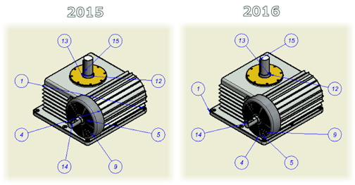 Inventor 2016 drawing balloon improved