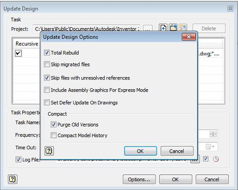 Inventor Design Checker - Task Total Rebuild