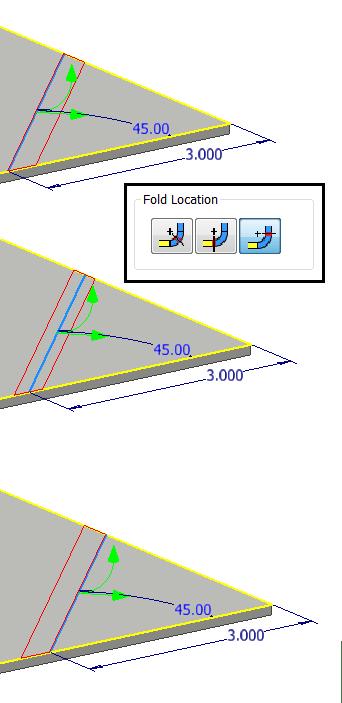 Fold Location