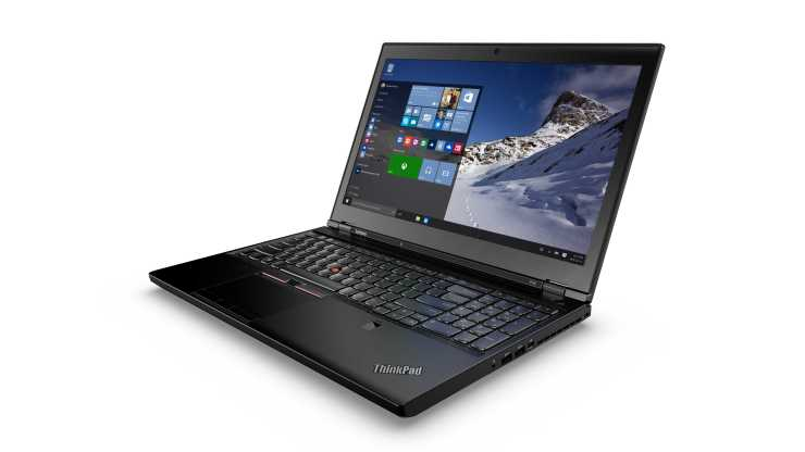 Lenovo Thinkpad P50 Windows 10