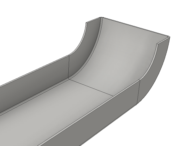 Inventor SM - Contour Roll Base with Flange