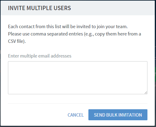 Frame - Invite Users in Bulk