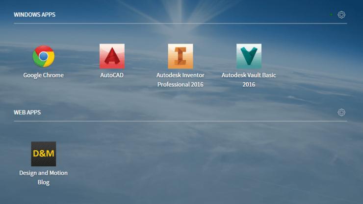 Frame - Vault Client Launchpad Option