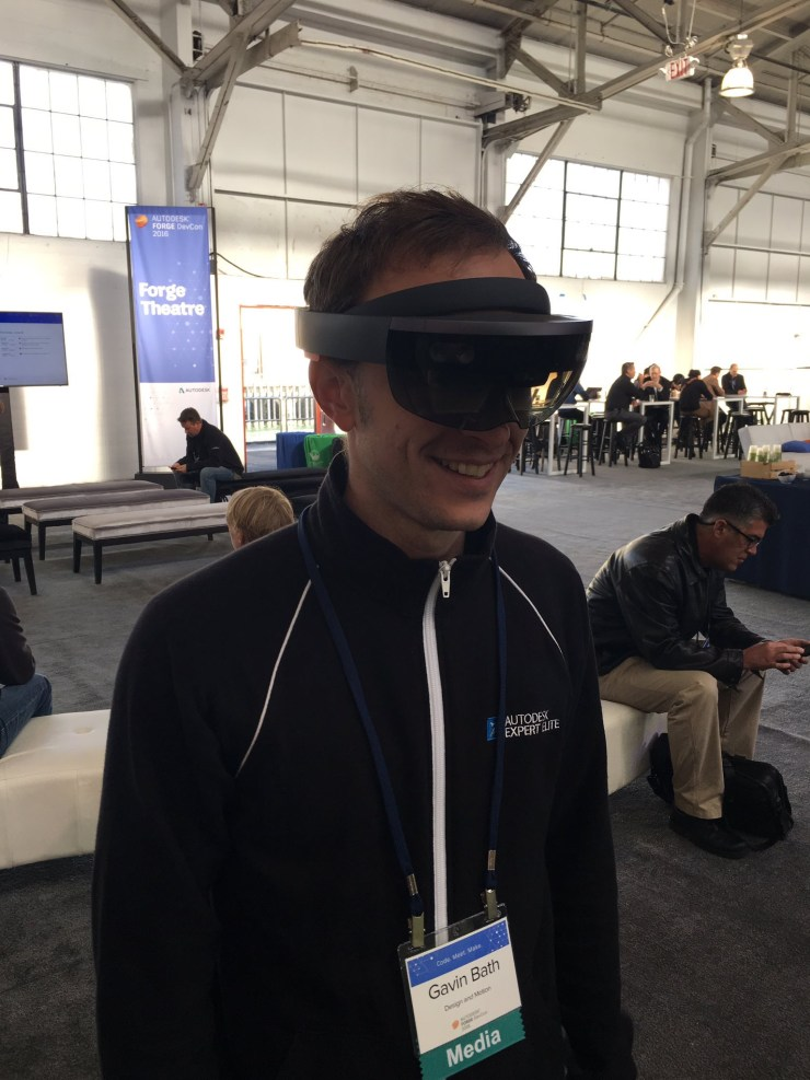 Forge Devcon HoloLens