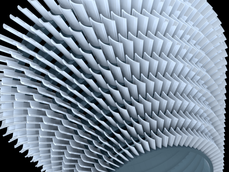 Modeling Turbine Blades