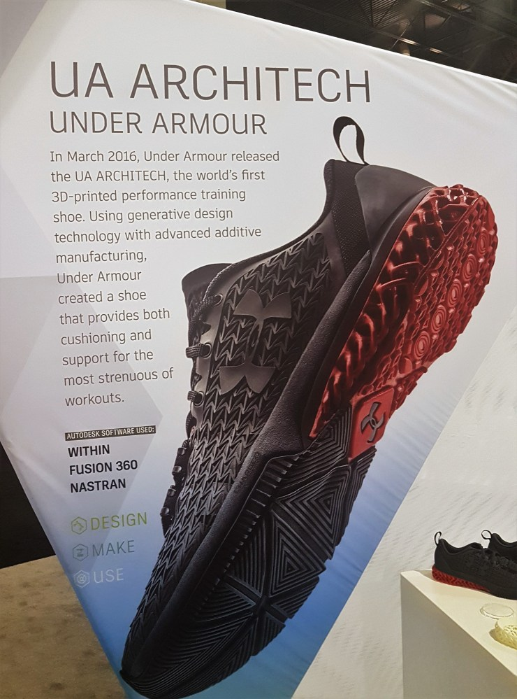 AU16 Under Armour UA Architect
