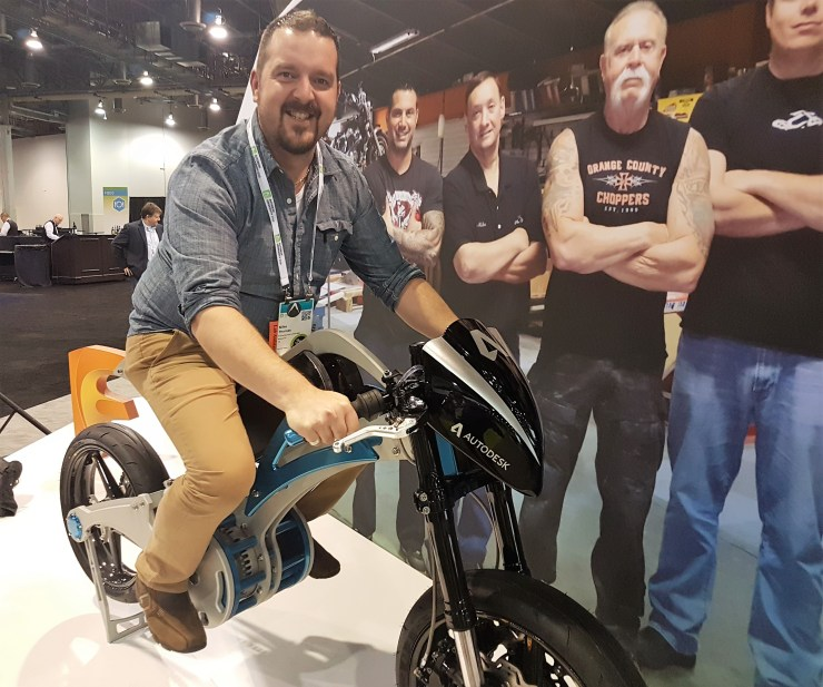AU16 Volta Orange County Choppers Fusion 360