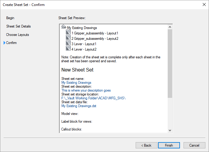 AutoCAD-Sheet-Set-New Confirm