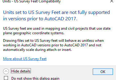 AutoCAD Civil 3D INSUNITS Scaling