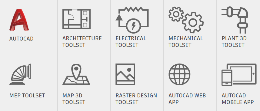 One AutoCAD 2019 List