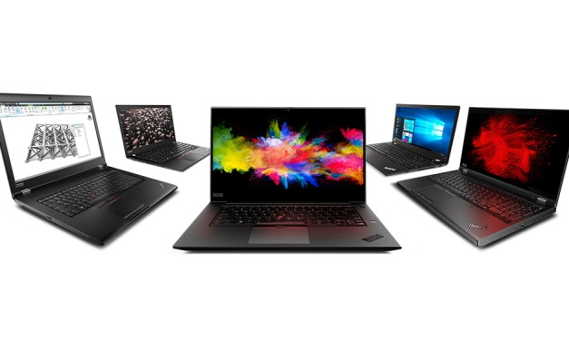 Lenovo Unveils New ThinkPad P Series Portfolio