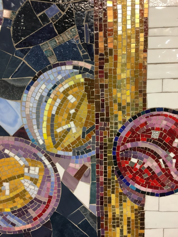 Mosaic Subway Art
