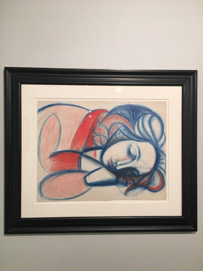 Portrait de Femme Endormie III