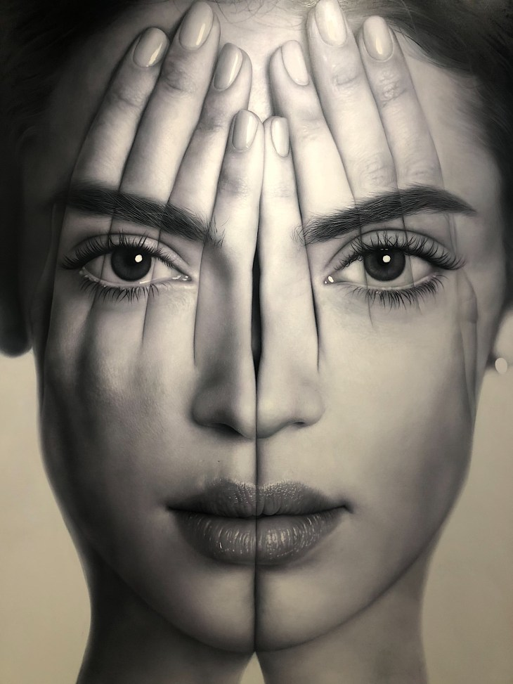 Design and Style Report image, Tigran Tsitohozyan painting, Opera Gallery.