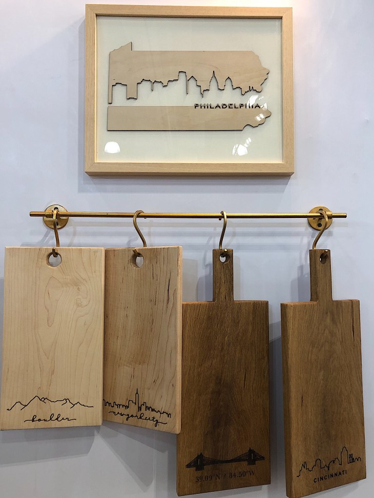 Design and Style Report image, Grainwell wooden cutting boards, NY NOW show