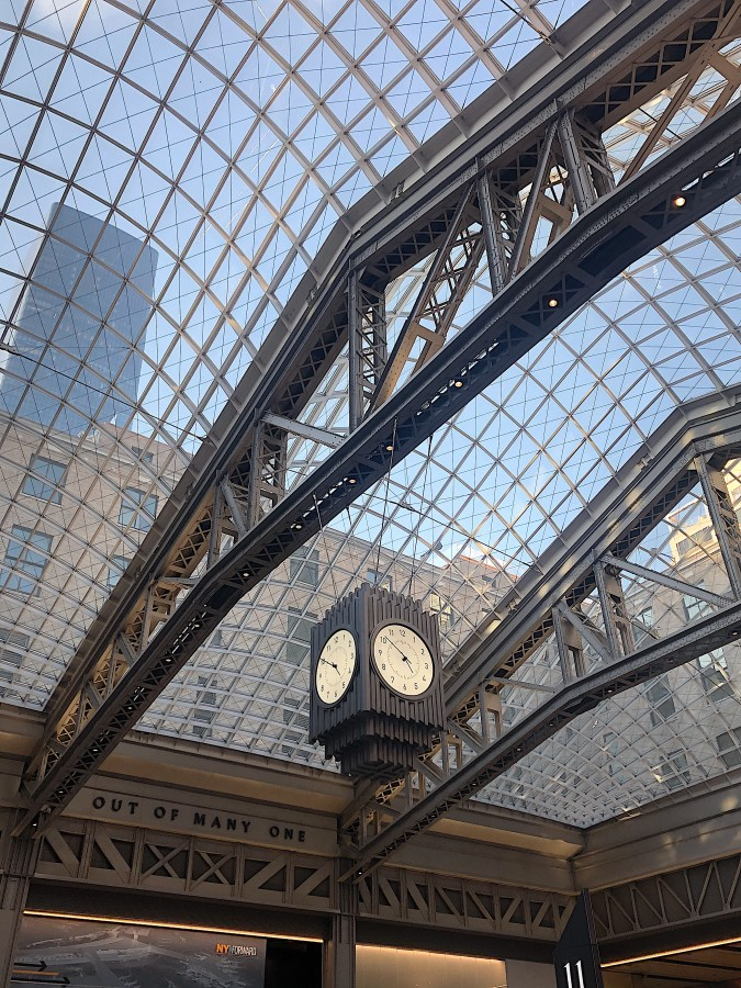 Moynihan Train Hall Art