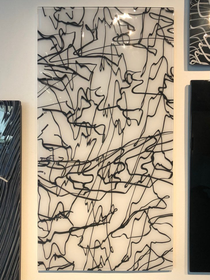Design and Style Report image, Nancy Callan glass art at Heller Gallery, NY