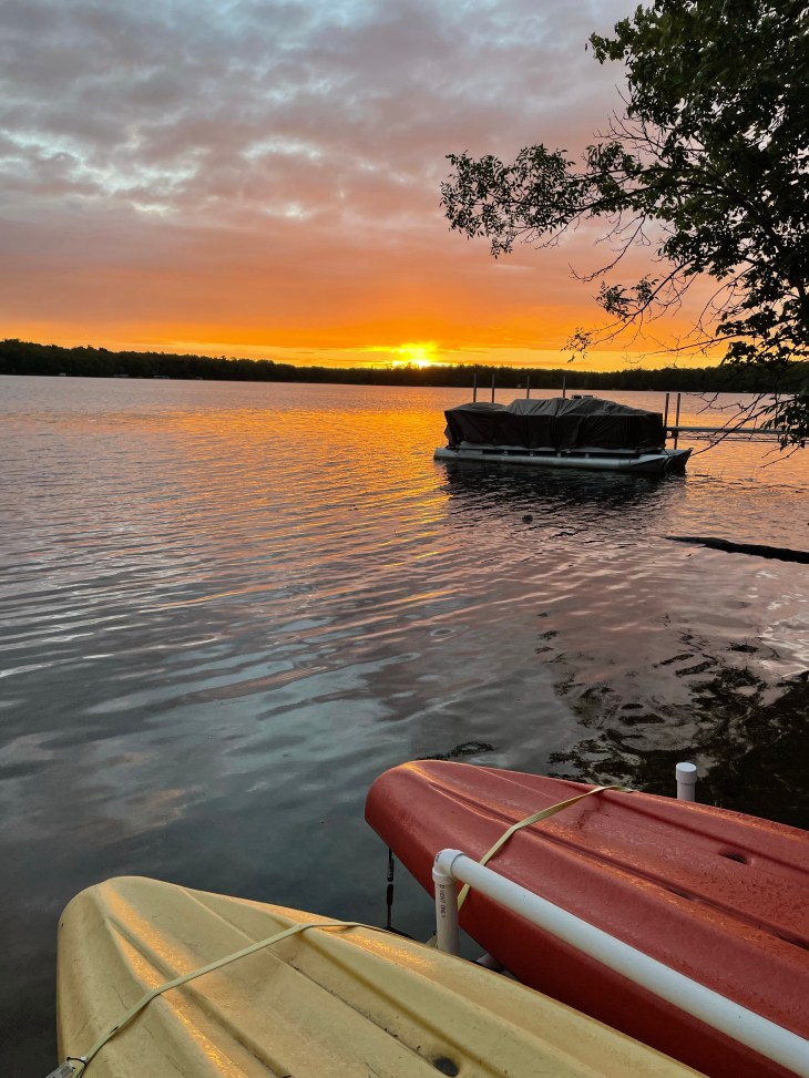 Design and Style Report image, Stark Lake view in Minnesota