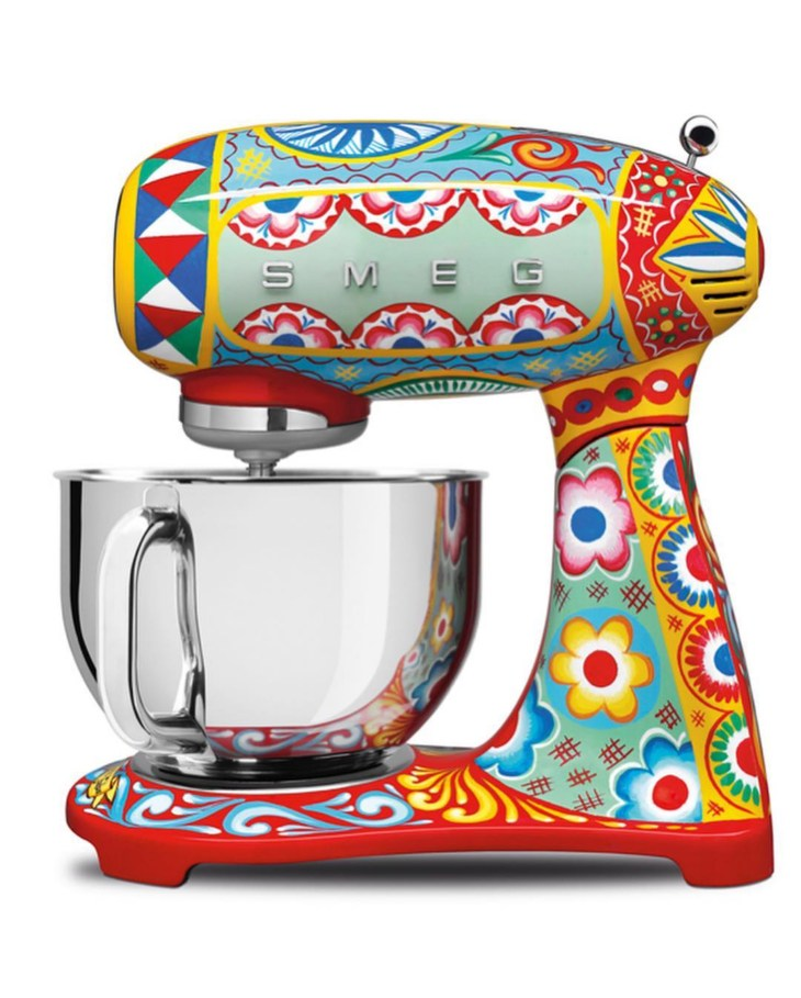 Design and Style Report image, Smeg x Dolce and Gabana mixer