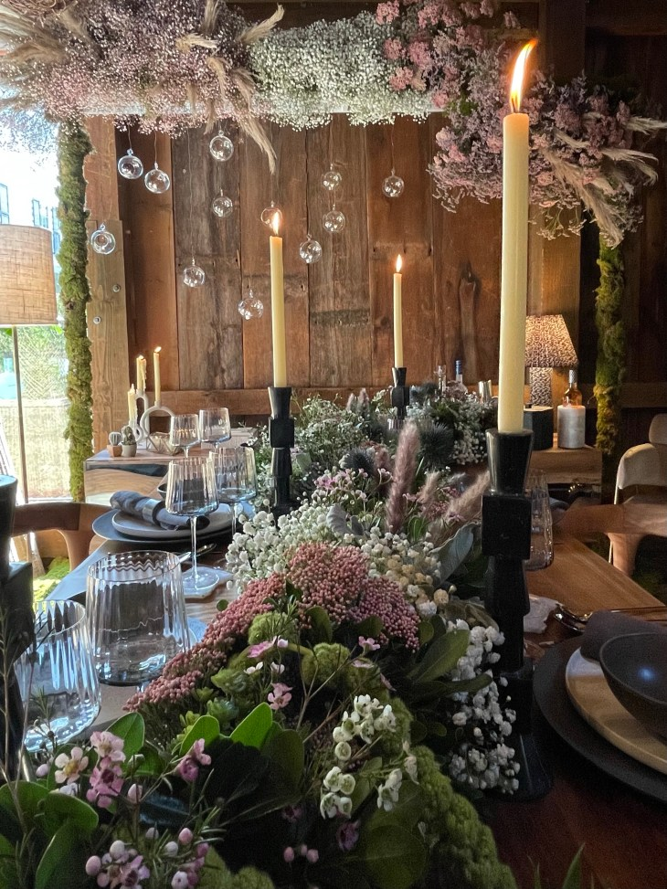 Design and Style Report image, Hoildy House Designs Tabletop event at Topping Rose House, Bridgehampton, Beth Donner design
