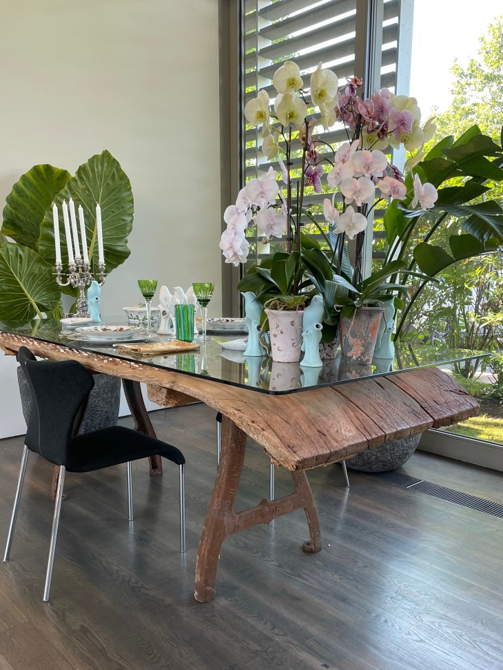 Design and Style Report image, Hoildy House Designs Tabletop event at Topping Rose House, Bridgehampton, Frederico Azevedo design