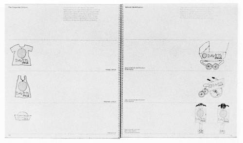 David's Lemonade Corporate Identity Manual, brochure