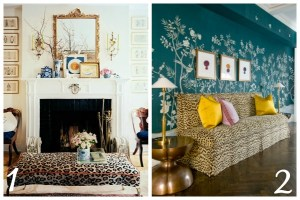 Decorating with Animal Prints: Living Rooms