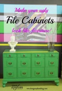 Design Asylum Blog | DIY File Cabinet Makeover