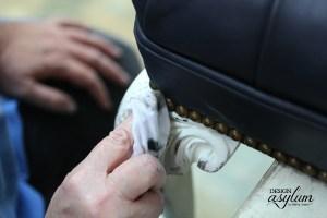 Painting Leather with Velvet Finishes | Design Asylum Blog