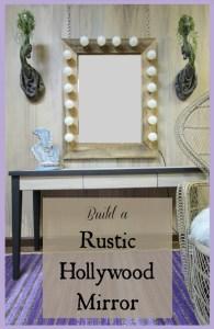 Build your own rustic Hollywood mirror   Design Asylum Blog