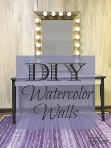 DIY: Watercolor Walls