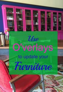 Do you have a tired old piece of furniture that could use a new life? Let O'verlays transform your piece into something fabulous!