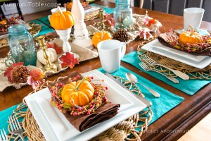 Inspiring Thanksgiving Tablescape