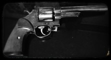 The Smith & Wesson my grandfather left to me. I never met my father, and he filled that role in my life. This picture would remind me of his teachings and survival skills passed on. I would attribute a large part of my survival to him.