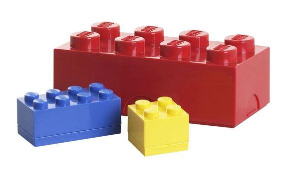 Contenitori e bottiglie firmati Lego  Arredare con stile