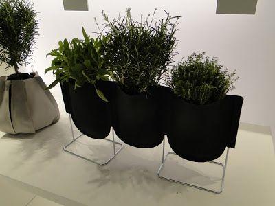 Vasi design per piante da interno Urban Garden  Arredare