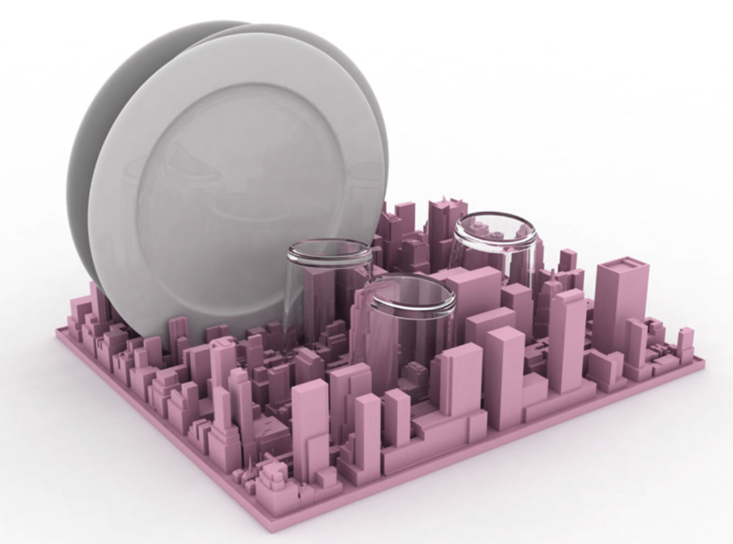 INCEPTION LO SCOLAPIATTI IN SILICONE DI SELETTI CELEBRA MANHATTAN  Arredare con stile