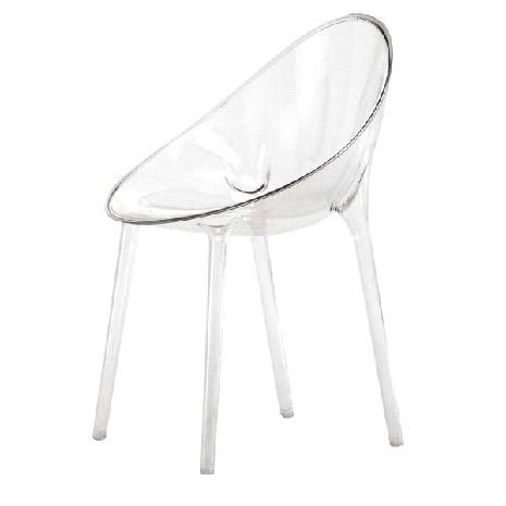 Sedute in policarbonato trasparente di Kartell  Arredare