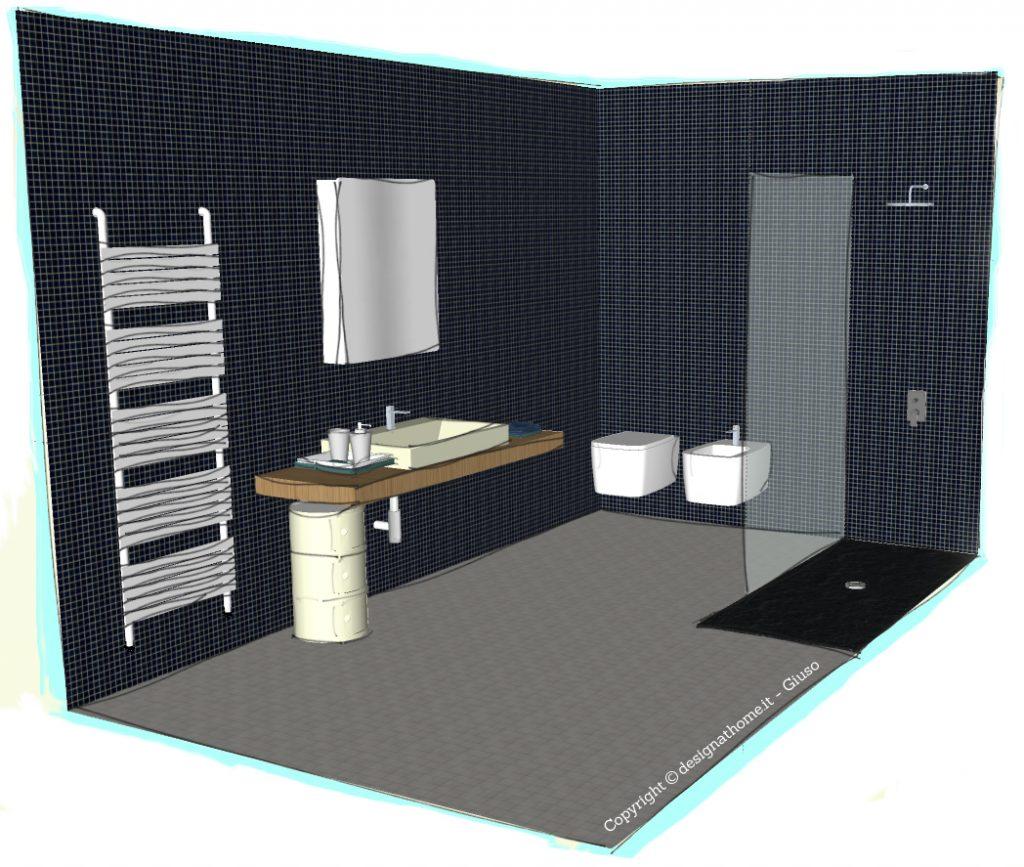 Realizzare un bagno moderno e funzionale sotto i 10 MQ  Arredare con stile