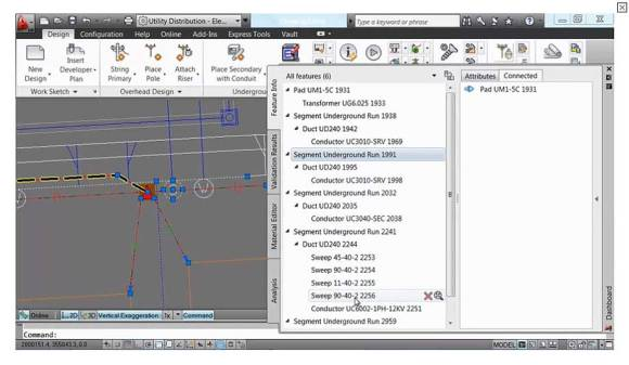 AutoCAD Utility Design: Smart model based design