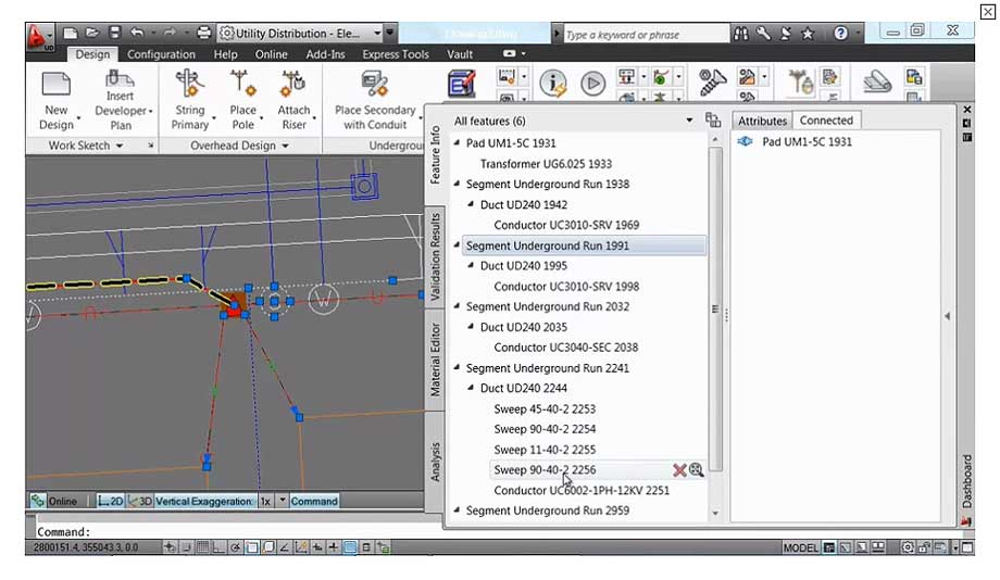 AutoCAD Utility Design: Smart model based design
