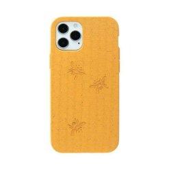 Pela Classic Engraved miljövänligt iPhone 12/12 Pro fodral - Honey Bee