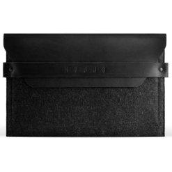 Mujjo Envelope Sleeve - Premium-fodral för iPad Mini 1-5 med detaljer av äkta läder