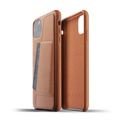 Mujjo Full Leather Wallet Case för iPhone 11 Pro Max