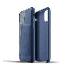 Mujjo Full Leather Wallet Case för iPhone 11
